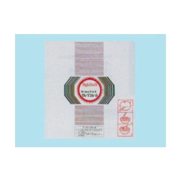 信和 包装用フィルム グレープ1ヶ包み 300×320mm 透明 印刷付 CPグレープ 1ケース7500枚入り
