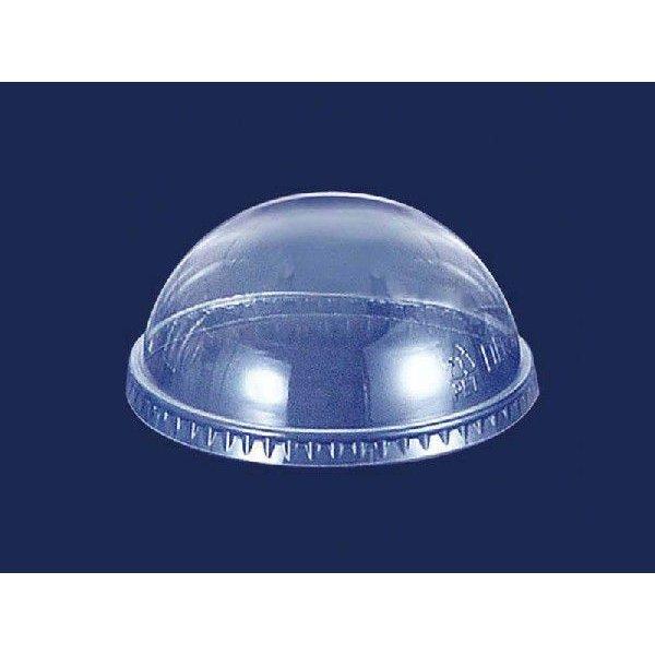 【個人宅配送別途送料】フジナップ プラスチック容器 フジプラカップ ドーム蓋穴なし12オンス用 φ97×43mm DD-92D 1ケース2000個入り