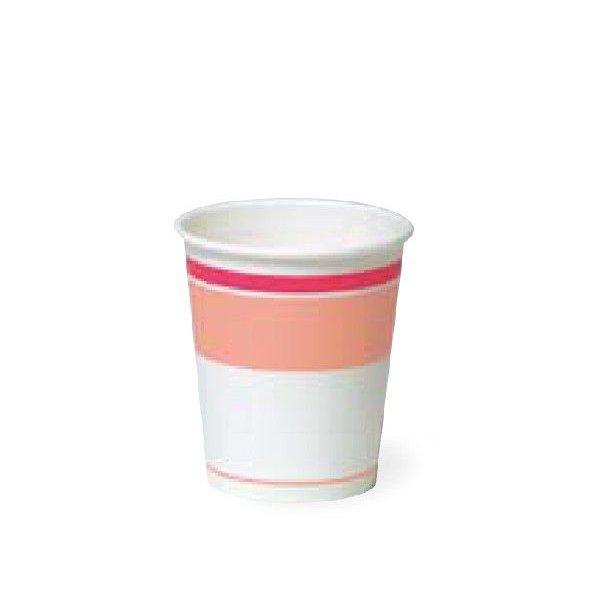 【個人宅配送別途送料】トーカン 紙コップ 5オンス SM-150 ロマンピンク 1ケース3000個入り
