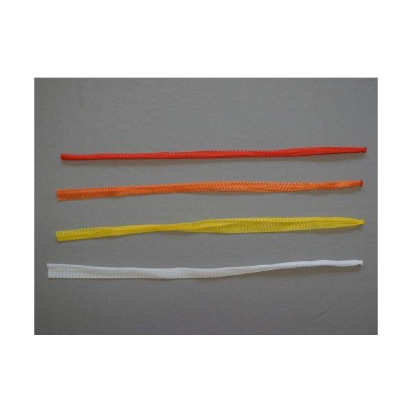 信和 棒ネット Sタイプ 折巾24cm 長さ60cm 赤/黄/オレンジ/白 にんにく・すだち用 1ケース4000本入