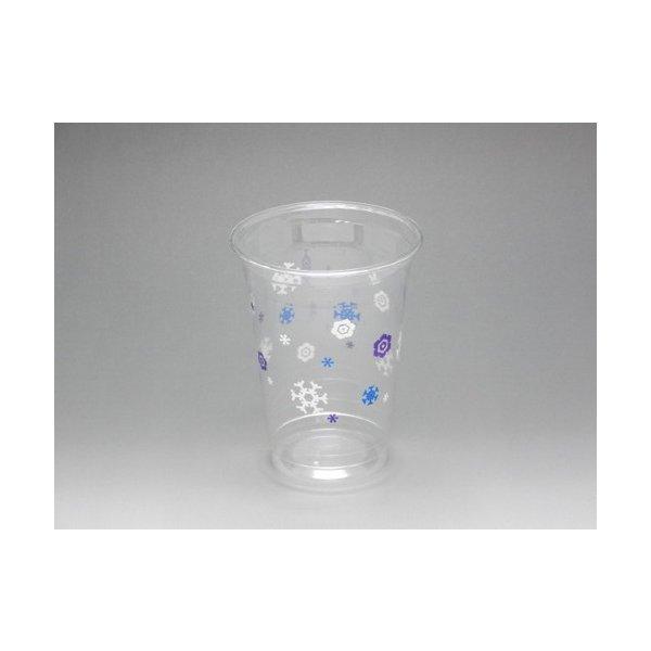 ポリマープラス ペットカップ 89-14オンス規格印刷カップ 420ml φ89mm スノークリスタル 1ケース1000個入り