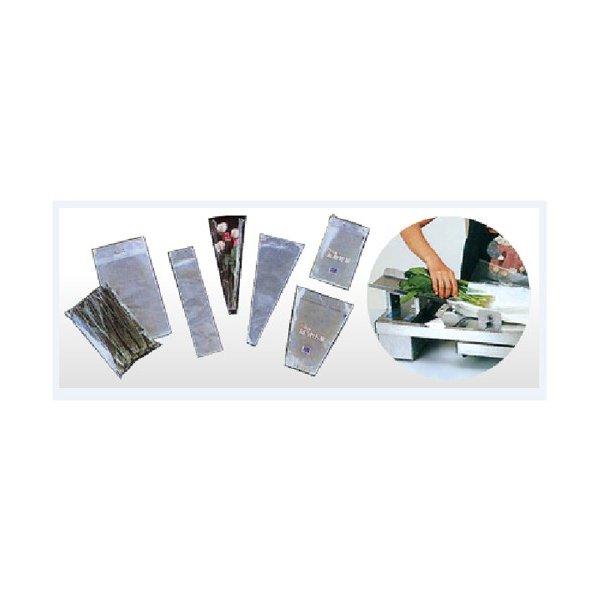 信和 自動袋開口機ジェットパック-21専用袋 #25 90×430+60mm 2穴 NJ-11 1ケース5000枚入
