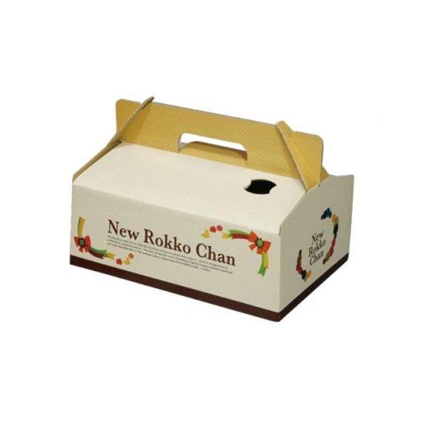 フルーツの箱 安売り フルーツ用 化粧箱 ダンボール箱 屋号必須 オリカ 新 195×295×130mm 1ケース60セット入り ロッコチャン メイルオーダー 手提用化粧箱