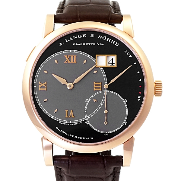 【新品】 A.LANGE & SOHNE A.ランゲ&ゾーネ 115.031 Grand Lange 1 Pink Gold Black & Grey 送料・代引手数料無料 腕時計 watch【送料・代引手数料無料】