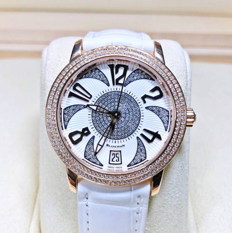 【新品】Blancpain ブランパン ウーマン コレクション 3300A-3728-52 ステンレススチール メンズ 腕時計 watch【送料・代引手数料無料】