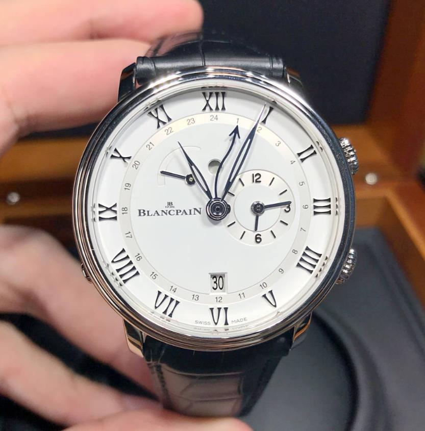 <title>新品 BLANCPAIN ブランパン ヴィルレ レヴェイユ 本店 GMT 6640-1127-55b-0001</title>