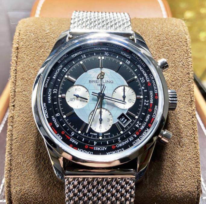 【新品】BRELTILING ブライトリング トランスオーシャン クロノグラフ AB0510U4/BB62 ステンレススチール メンズ 腕時計 watch 【送料・代引手数料無料】