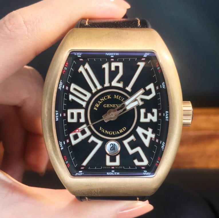 【新品】FRANCK MULLER フランクミュラー / ヴァンガード ブロンズ V45 SC DT CIR BZ BR NR 銅 メンズ 腕時計 watch【送料・代引手数料無料】