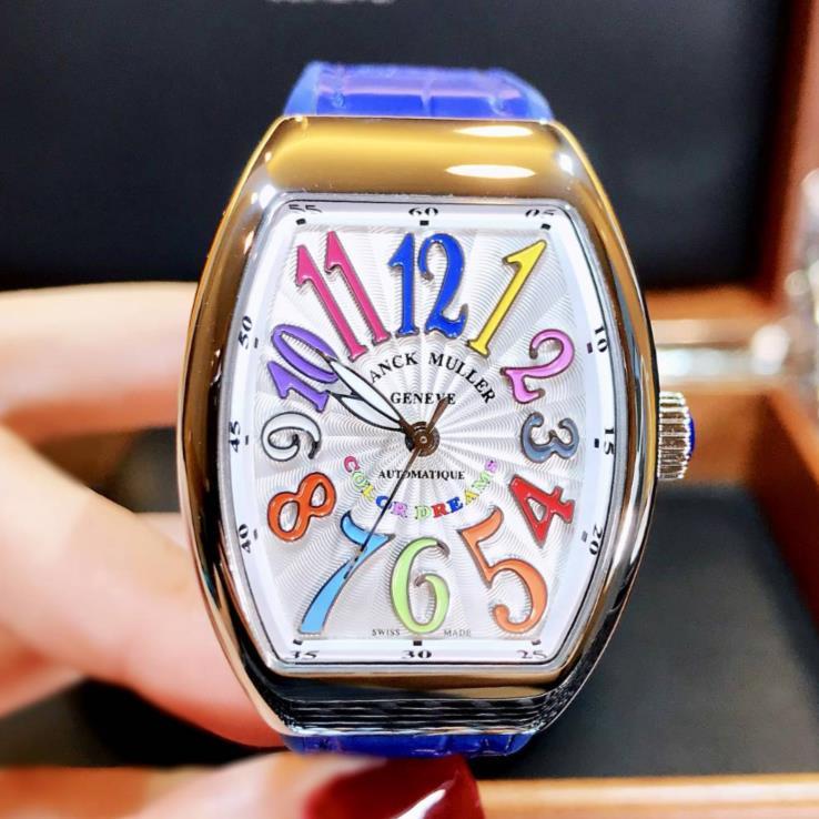 【新品】FRANCK MULLER フランクミュラー / ヴァンガード カラードリーム ステンレススチール V32 SC AT FO COL DRM AC BU 腕時計 watch【送料・代引手数料無料】