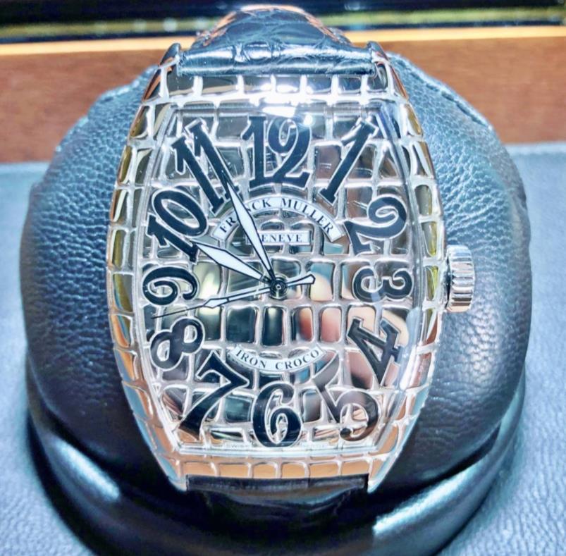 【新品】FRANCK MULLER フランクミュラー トノー カーベックス アイアンクロコ 8880 SC IRON CRO ステンレススチール メンズ 腕時計 watch【送料・代引手数料無料】