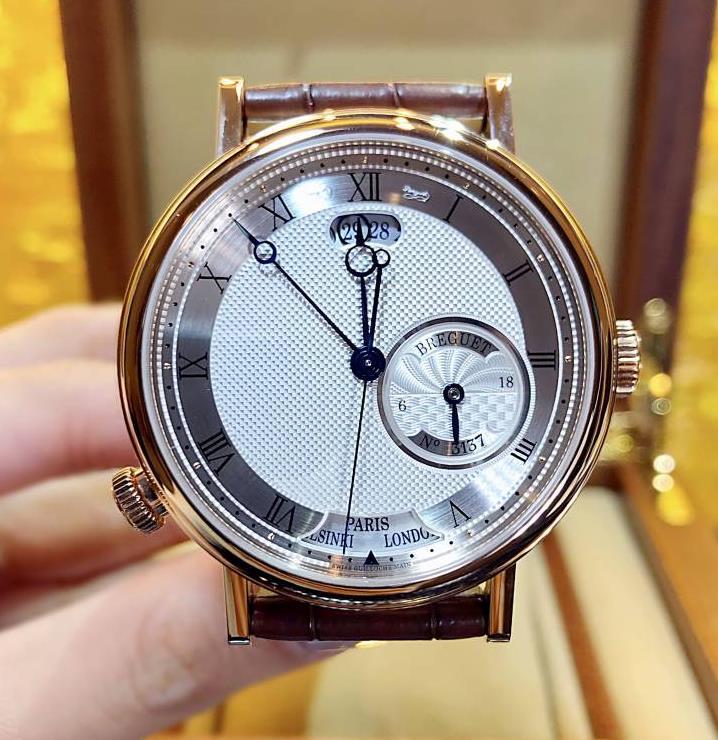 【新品】 Breguet ブレゲ クラシック オーラ ムンディ 5727BR.129ZU 18kローズゴールド メンズ 腕時計 watch【送料・代引手数料無料】