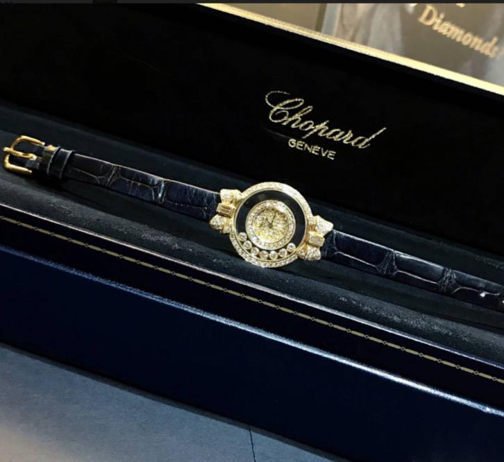 Chopard ショパール ハッピーダイヤモンド レディース  205020-0002