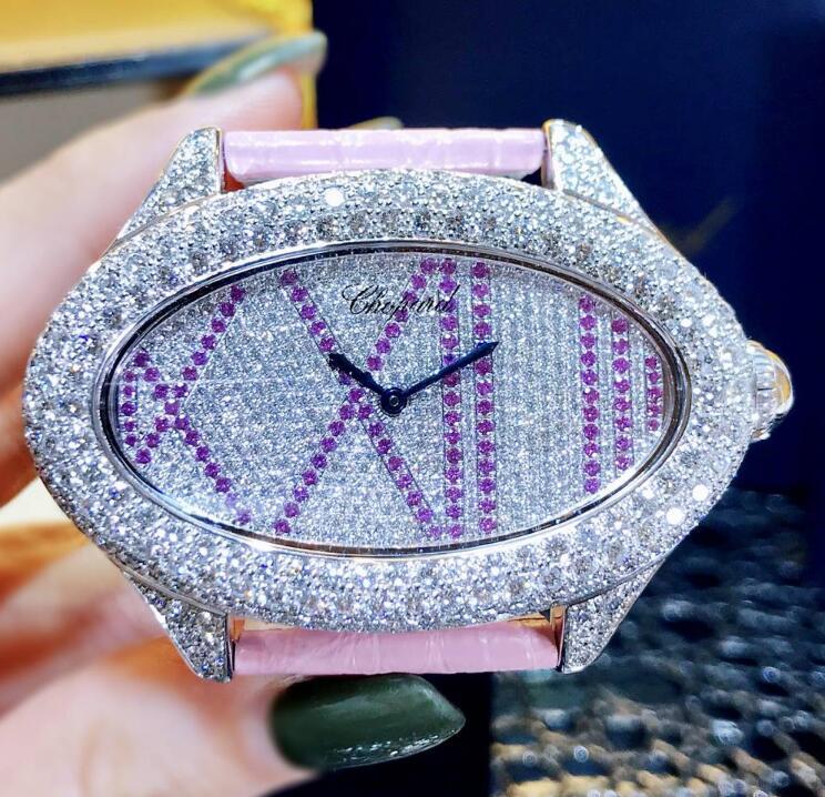 【新品】Chopard ショパール 137146-1004-0001 18kホワイトゴールド レディース 腕時計 watch【送料・代引手数料無料】