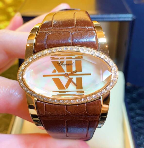 【新品】 Chopard ショパール 18kホワイトゴールド レディース13/9018 18kローズゴールド メンズ 腕時計 watch【送料・代引手数料無料】
