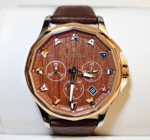 【新品】CORUM コルム / アドミラルズカップ コンペティション 984.101.24/0F62 AW12 ステンレススチール/18kローズゴールド メンズ 腕時計 watch【送料・代引手数料無料】