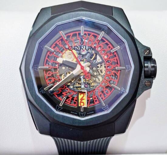 【新品】CORUM コルム / アドミラルズカップ コンペティション 082.406.95/F371 NO10 ブラックPVDチタン メンズ 腕時計 watch【送料・代引手数料無料】