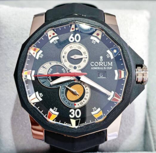 【新品】CORUM コルム / アドミラルズカップ コンペティション A277-BLACK  ステンレススチール/チタン メンズ 腕時計 watch【送料・代引手数料無料】