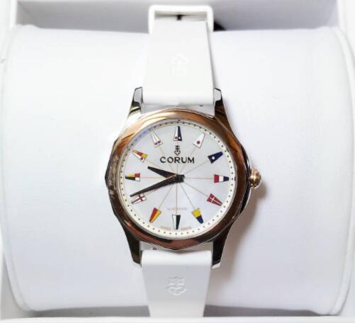 【新品】CORUM コルム / アドミラルズカップ コンペティション A400/02974 ステンレススチール/18kローズゴールド  レディース 腕時計 watch【送料・代引手数料無料】