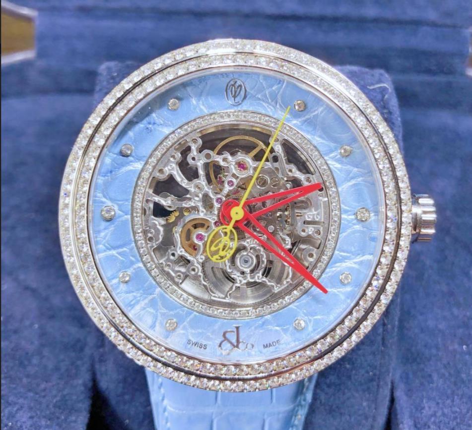【新品】JACOB&CO ジェイコブ ヴァレンティン ユダシュキン WVY-081 ステンレススチール メンズ 腕時計 WATCH 【送料・代引手数料無料】