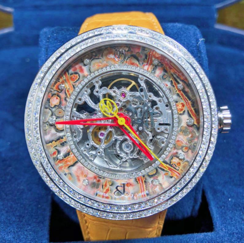 【新品】JACOB&CO ジェイコブ ヴァレンティン ユダシュキン WVY-042 ステンレススチール メンズ 腕時計 WATCH 【送料・代引手数料無料】