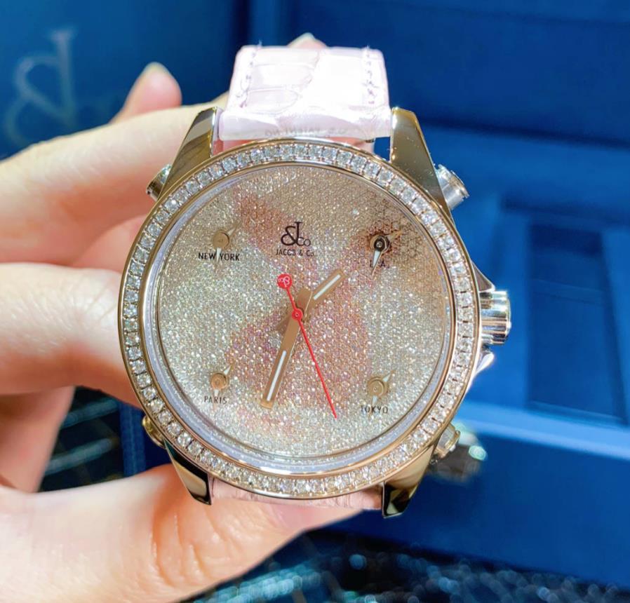 【新品】JACOB&CO ジェイコブ ファイブタイムゾーン ステンレススチール JCMPLAYP メンズ 腕時計 watch 【送料・代引手数料無料】
