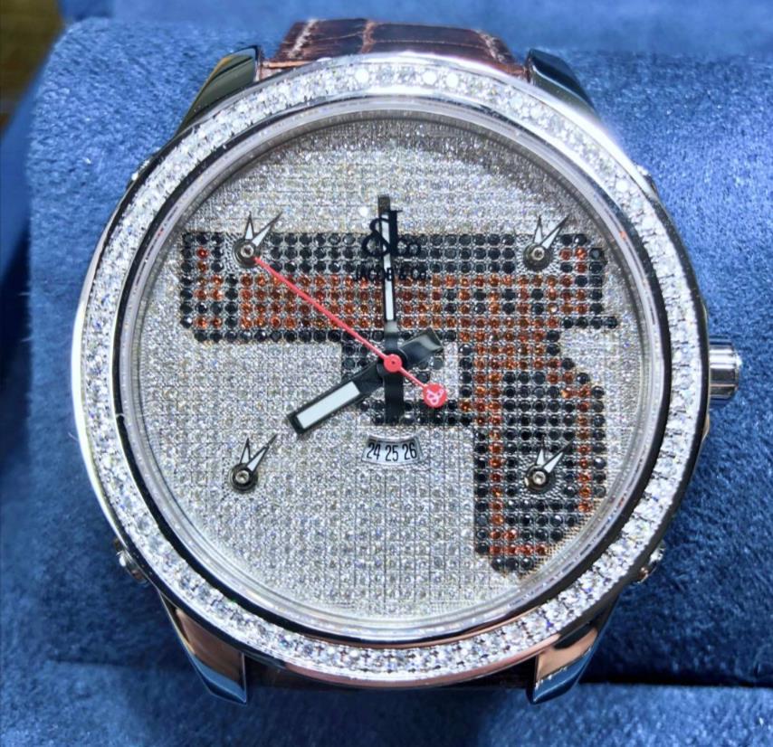 【新品】JACOB&CO ジェイコブ ファイブタイムゾーン ステンレススチール JU-GUN メンズ 腕時計 watch 【送料・代引手数料無料】