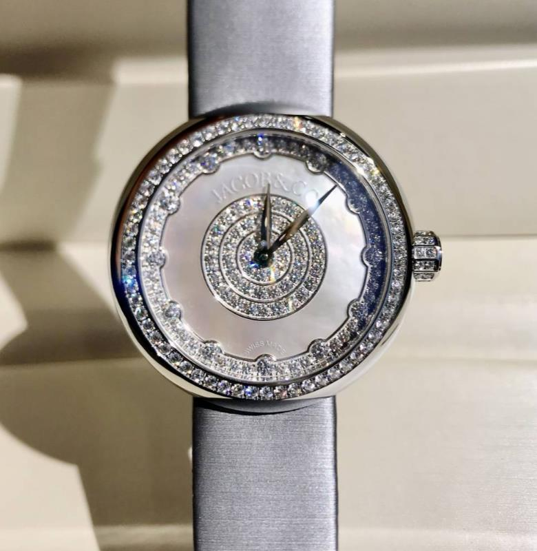 【新品】JACOB&CO ジェイコブ ブリリアント コレクション  ダイヤモンド レディース BQ020.10.RO.PL.A SN4A【送料・代引手数料無料】