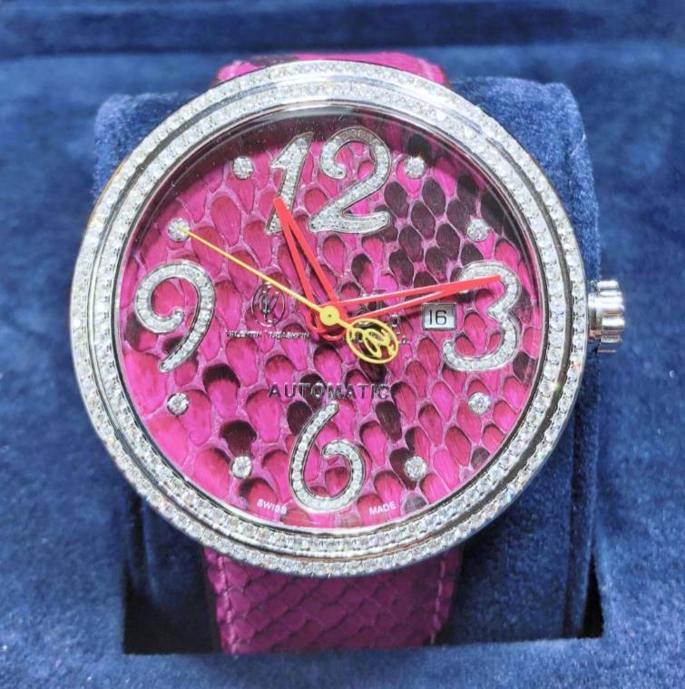 【新品】JACOB&CO ジェイコブ ヴァレンティン ユダシュキン WVY018DC ステンレススチール メンズ 腕時計 WATCH 【送料・代引手数料無料】