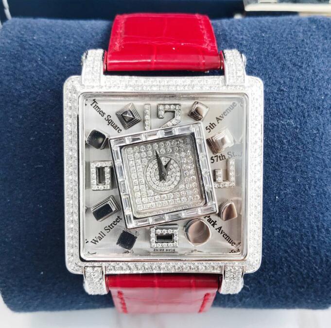 【新品】【限量】JACOB&CO ジェイコブ   METROPOLI ステンレススチール/ダイヤモンド MANSSB  腕時計 watch【送料・代引手数料無料】