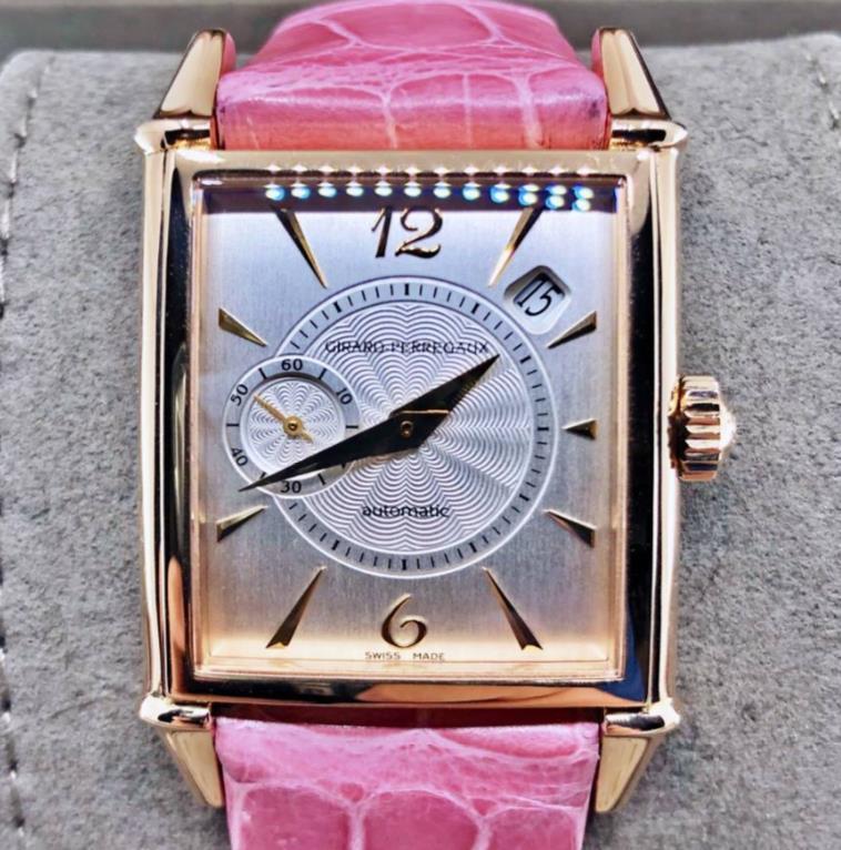 【新品】GIRARD PERREGAUX ジラール ペルゴ ヴィンテージ 1945 25932-52-162-CK9A 18kローズゴールド レディース 腕時計 watch【送料・代引手数料無料】