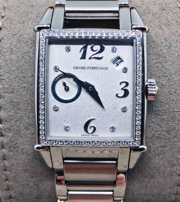 【新品】GIRARD PERREGAUX ジラール ペルゴ ヴィンテージ 1945 25932D-11A-761-11A ステンレススチール レディース 腕時計 watch 【送料・代引手数料無料】