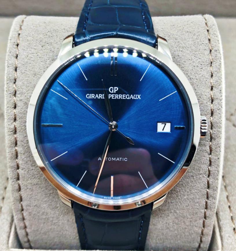 【新品】GIRARD PERREGAUX ジラール ペルゴ 1966 ステンレススチール メンズ 49527-53-432-BB4A 腕時計 watch 【送料・代引手数料無料】