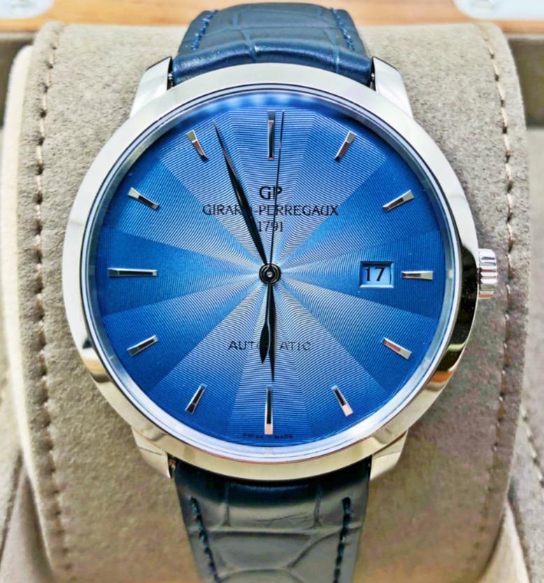 【新品】GIRARD PERREGAUX ジラール ペルゴ 1966 ステンレススチール メンズ 49555-11-431-BB60 腕時計 watch 【送料・代引手数料無料】