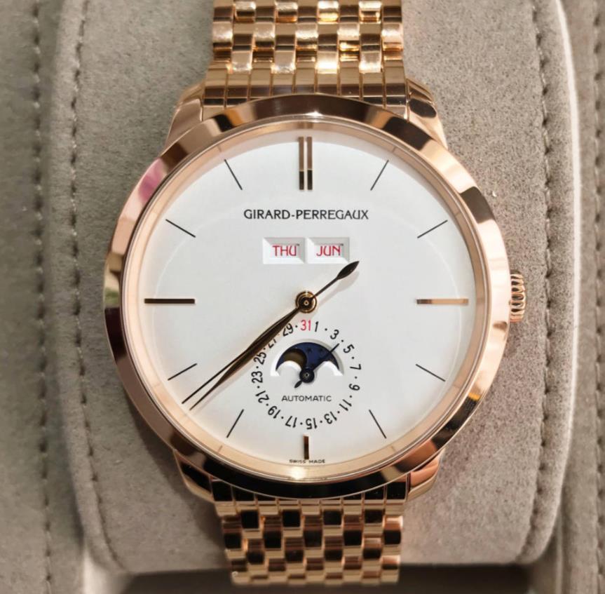 【新品】GIRARD PERREGAUX ジラール ペルゴ 1966 18Kローズゴールド  メンズ 49535-52-151-52A 腕時計 watch 【送料・代引手数料無料】