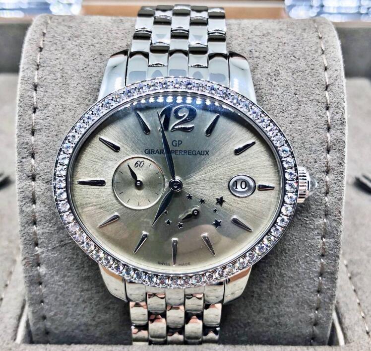 【新品】GIRARD PERREGAUX ジラール ペルゴ  CAT'S EYE  '80486D-11A-861-11A  ステンレススチール/ダイヤモンド レディース 腕時計 WATCH【送料・代引手数料無料】