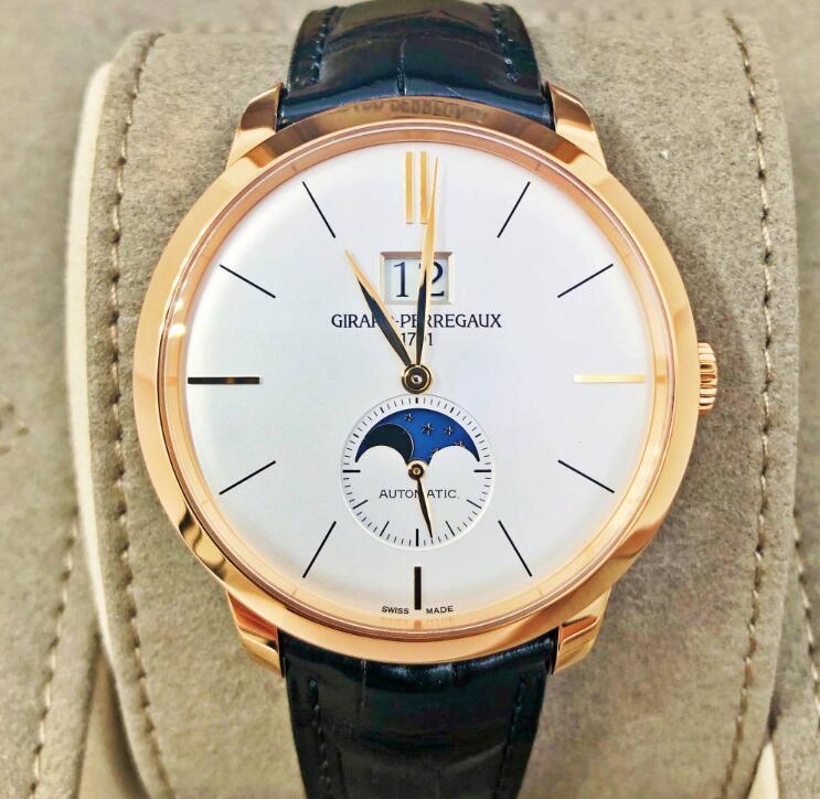 【新品】GIRARD PERREGAUX ジラール ペルゴ 1966  49556-52-131-BB6C 18kローズゴールド メンズ 腕時計 WATCH【送料・代引手数料無料】