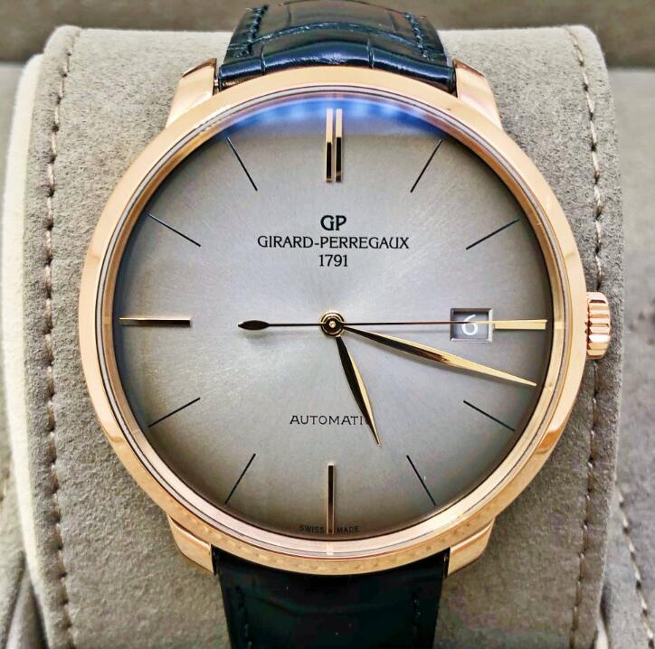 【新品】GIRARD PERREGAUX ジラール ペルゴ 1966  49551-52-231-BB60 18kローズゴールド メンズ 腕時計 WATCH【送料・代引手数料無料】