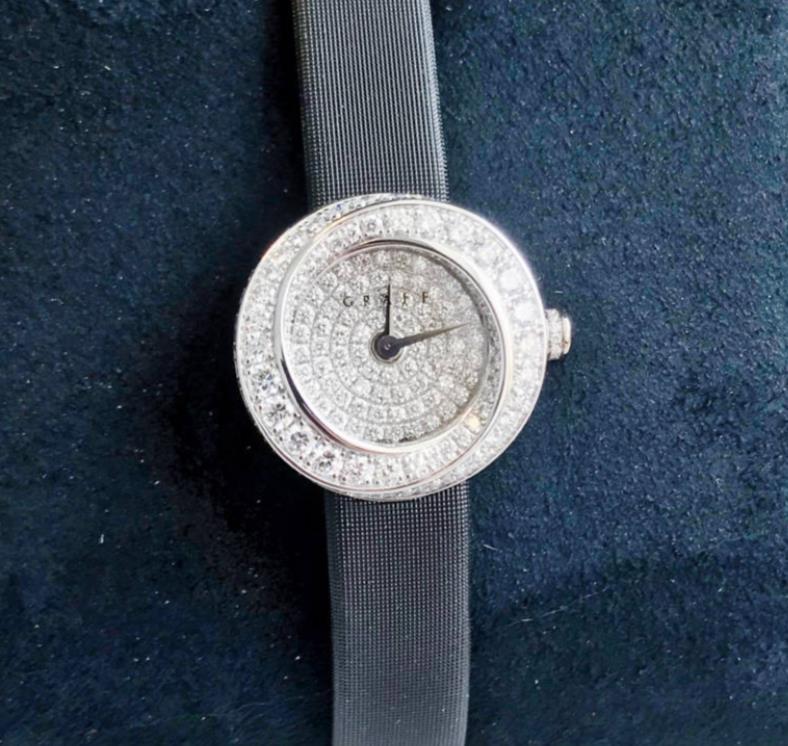 【新品】GRAFF グラフ ザ スパイラル GSP19WGDD 18Kホワイトゴールド 純正全面ダイヤモンド レディース 腕時計 watch【送料・代引き無料】