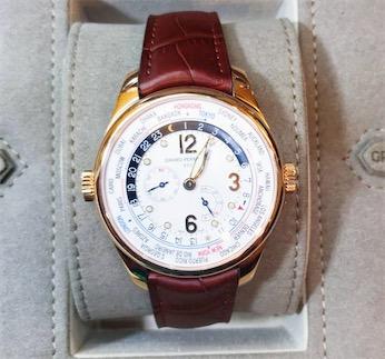 【新品】GIRARD PERREGAUX ジラール ペルゴ  49851-52-152-BACA  18kローズゴールド 腕時計 メンズ WATCH【送料・代引手数料無料】