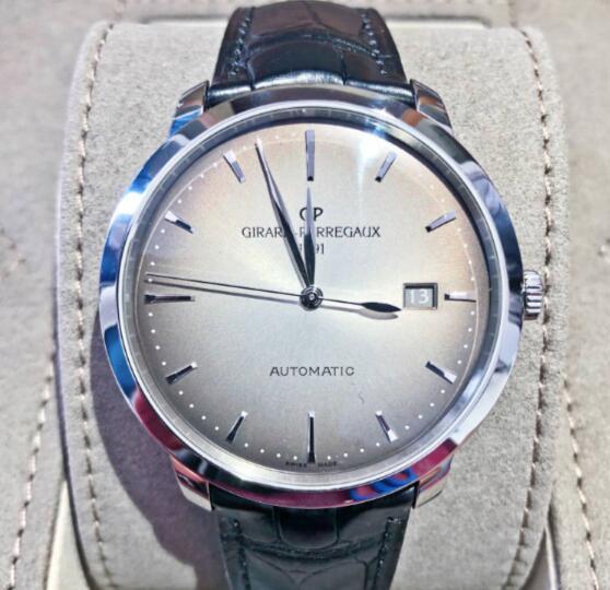 【新品】GIRARD PERREGAUX ジラール ペルゴ 1966 ステンレススチール メンズ 49555-11-231-BB60 腕時計 watch 【送料・代引手数料無料】