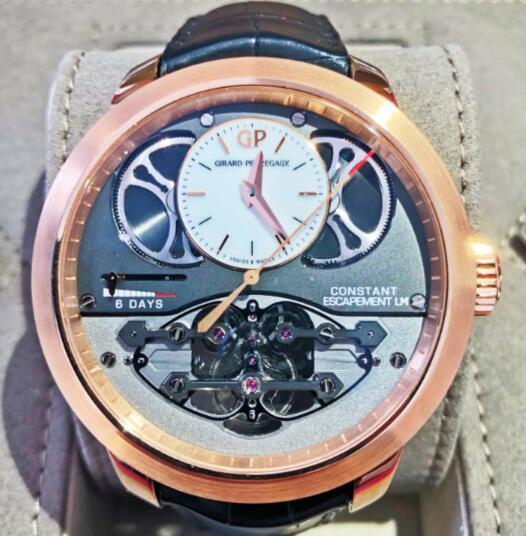 【新品】GIRARD PERREGAUX ジラール ペルゴ BRIDGES 18kローズゴールド メンズ 93500-52-731-BA6D 腕時計 watch 【送料・代引手数料無料】