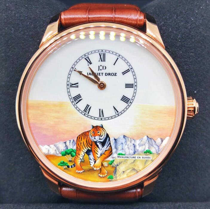 【新品】【限定88枚】JAQUET DROZ ジャケドローPetite Heure Minute J005033297 メンズ 18kローズゴールド 腕時計 watch【送料・手数料無料】