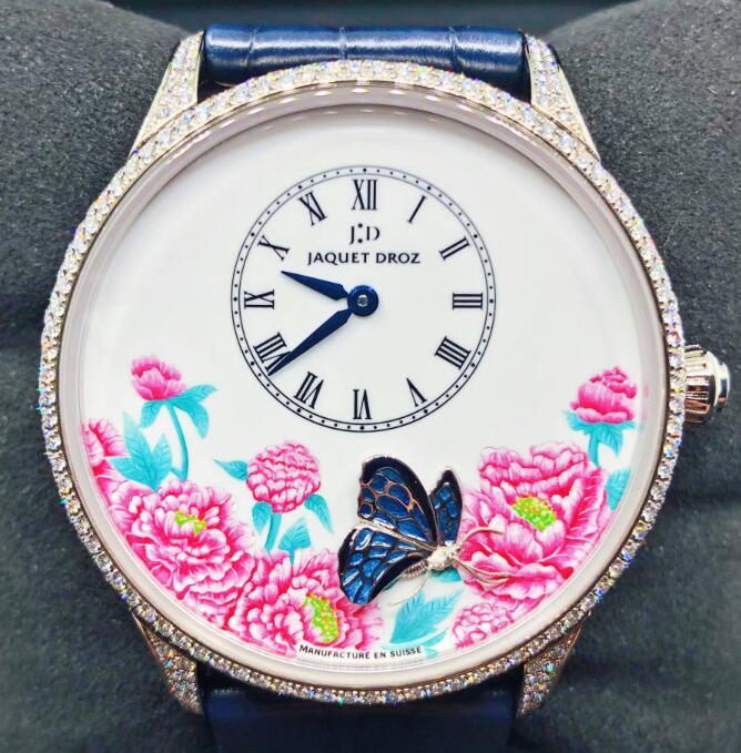 【新品】【限定8枚】JAQUET DROZ ジャケドローPetite Heure Minute J005034269 メンズ 18kホワイトゴールド 腕時計 watch【送料・代引手数料無料】