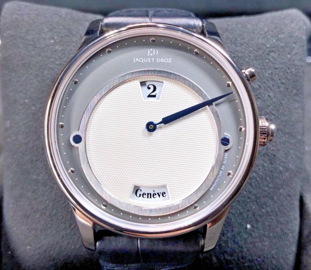 【新品】JAQUET DROZ ジャケドロー アストラール J010124201 メンズ 18kホワイトゴールド 腕時計 watch【送料・代引手数料無料】