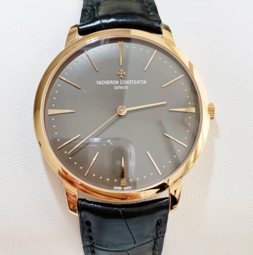 VACHERON CONSTANTIN ヴァシュロンコンスタンタン 超人気 専門店 パトリモニー ラージ 81180 000G-9162-0003 腕時計 代引手数料無料 メンズ18Kローズゴールド watch 新品 セール価格 送料