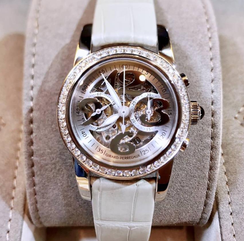 【新品】GIRARD PERREGAUX ジラール ペルゴ コレクション レディース 80440D-11A-111-BK2A ステンレススチール 腕時計 WATCH【送料・代引手数料無料】
