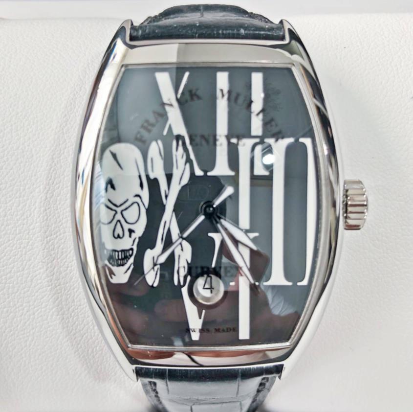 【新品】FRANCK MULLER フランクミュラー トノウカーベックスN 7880 SC DT GOTH REL ステンレススチール メンズ 腕時計 watch 【送料・代引手数料無料】