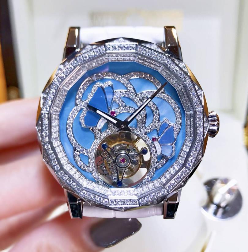 新品 Memorigin メモリジン エボルビング・バタフライ ステンレススチール トゥールビヨン  AT 0502 watch メンズ 腕時計