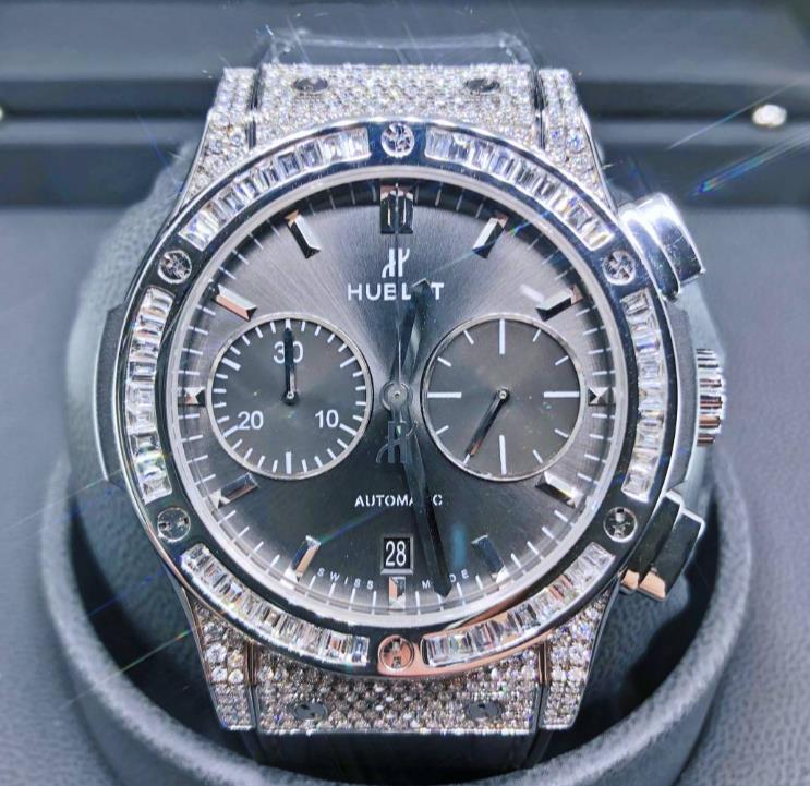 【新同品】HUBLOT ウブロ クラシックフュージョン 521.NX.7071.LR チタン メンズ 腕時計 watch 【送料・代引手数料無料】