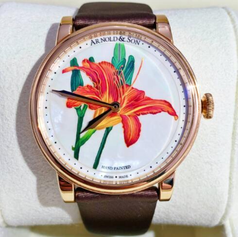 【新品】 ARNOLD&SON アーノルド&サン TE8 18Kローズゴールド 1LCAP.M06A 限定8本 腕時計 watch【送料・代引手数料無料】